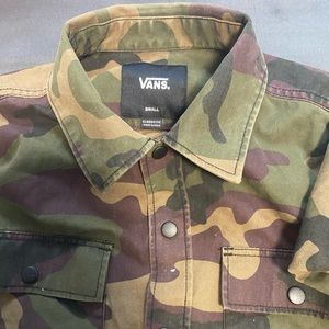 Army Fatigue Vans Jacket